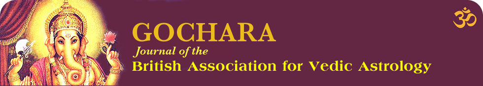 Gochara British Association of Vedic Astrology